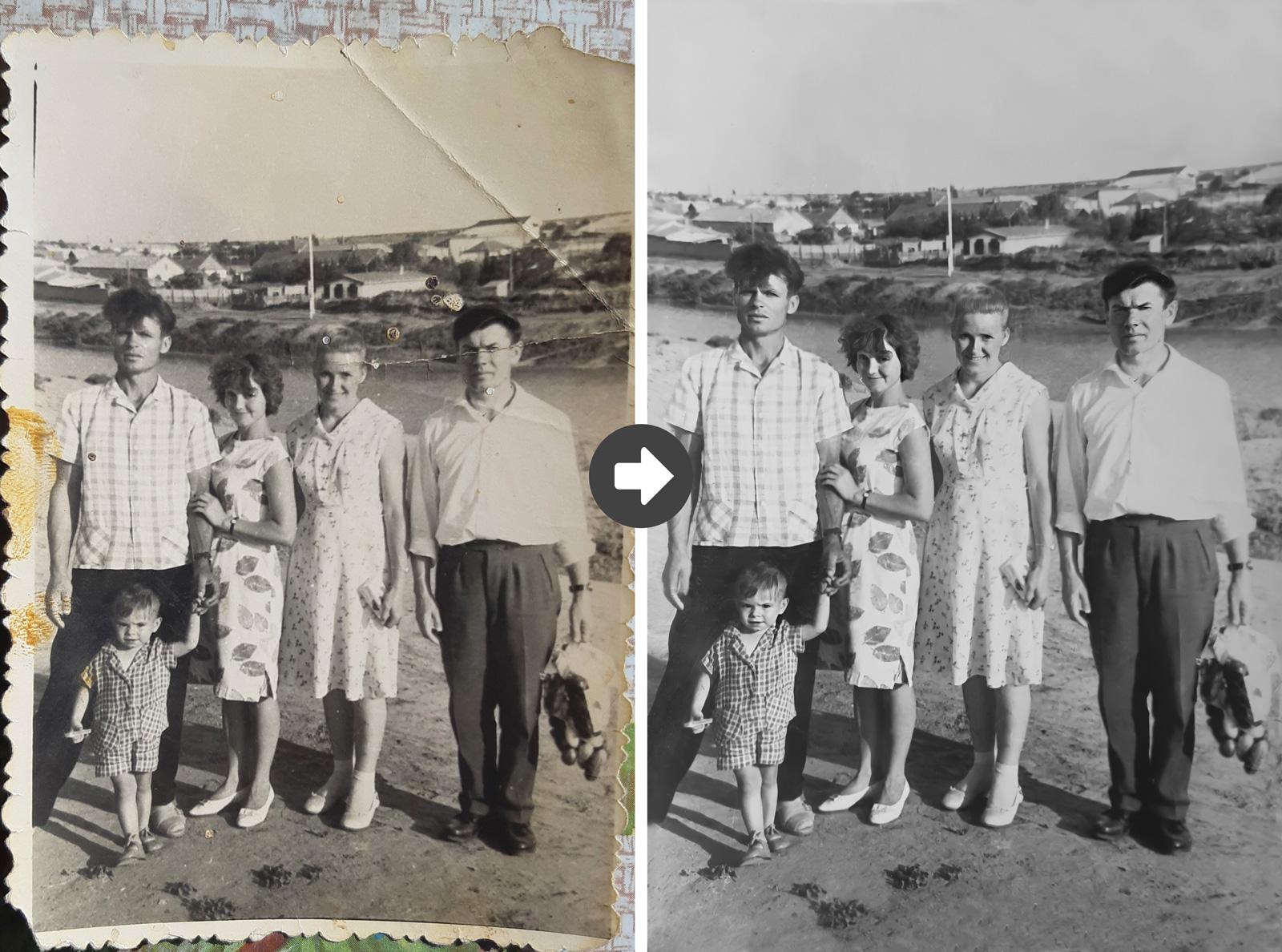 павлодар реставрация старых фотографий потому, что входит