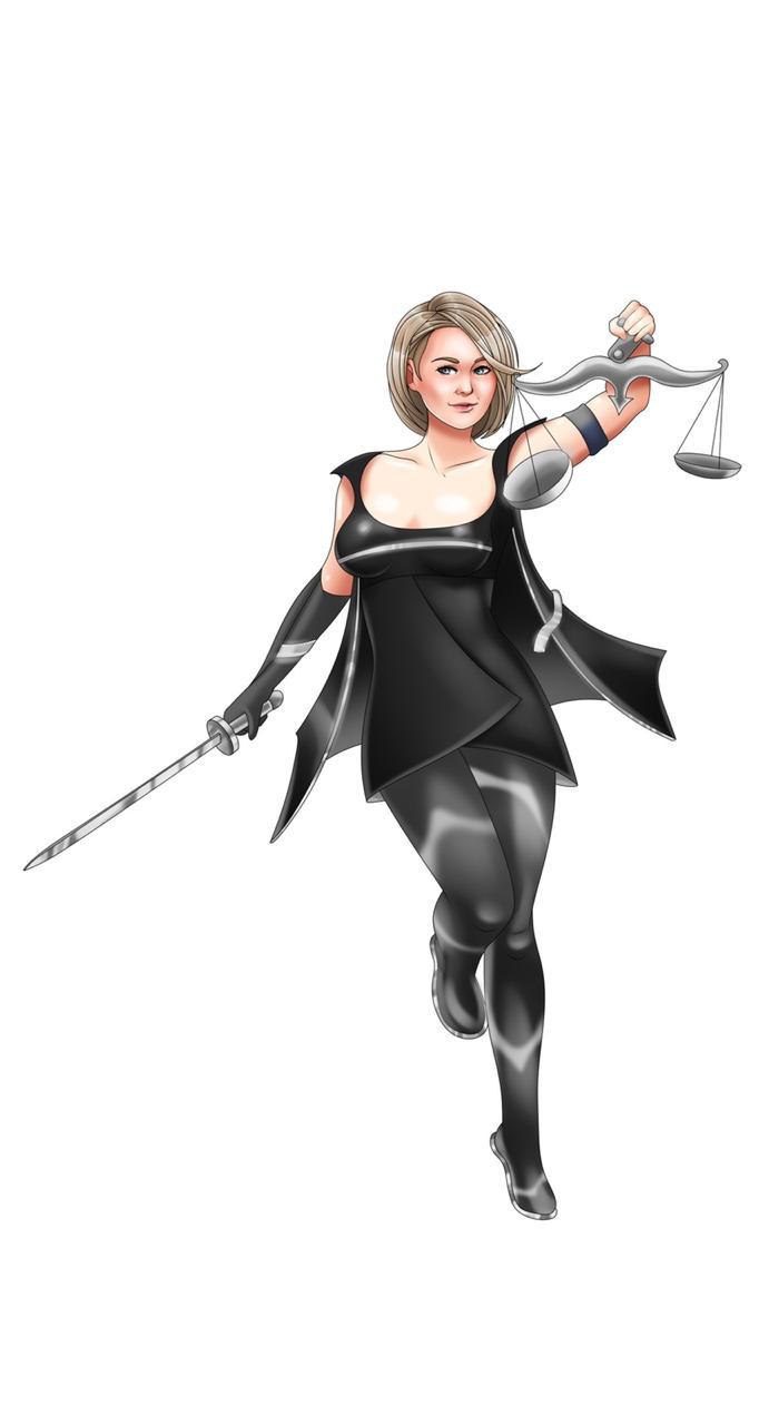Персонаж для юридической компании