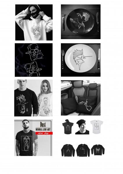 Локализация сайта брендовой одежды DUST st