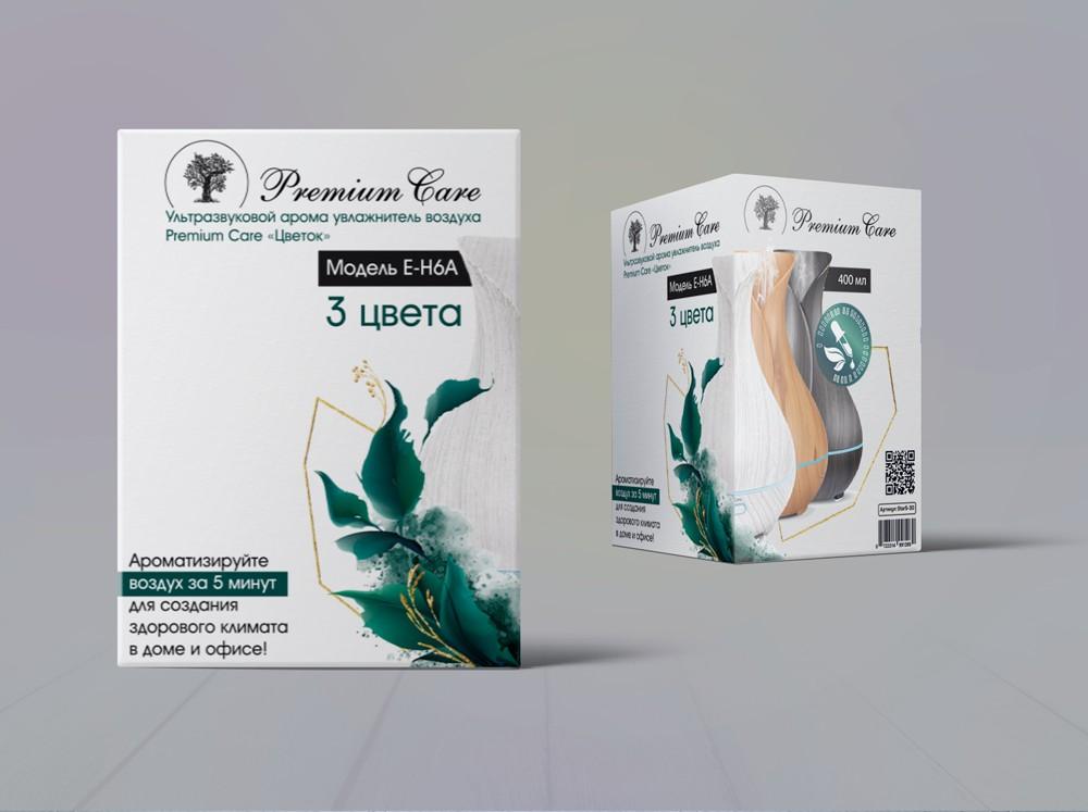 Разработка дизайна и визуалка упаковки