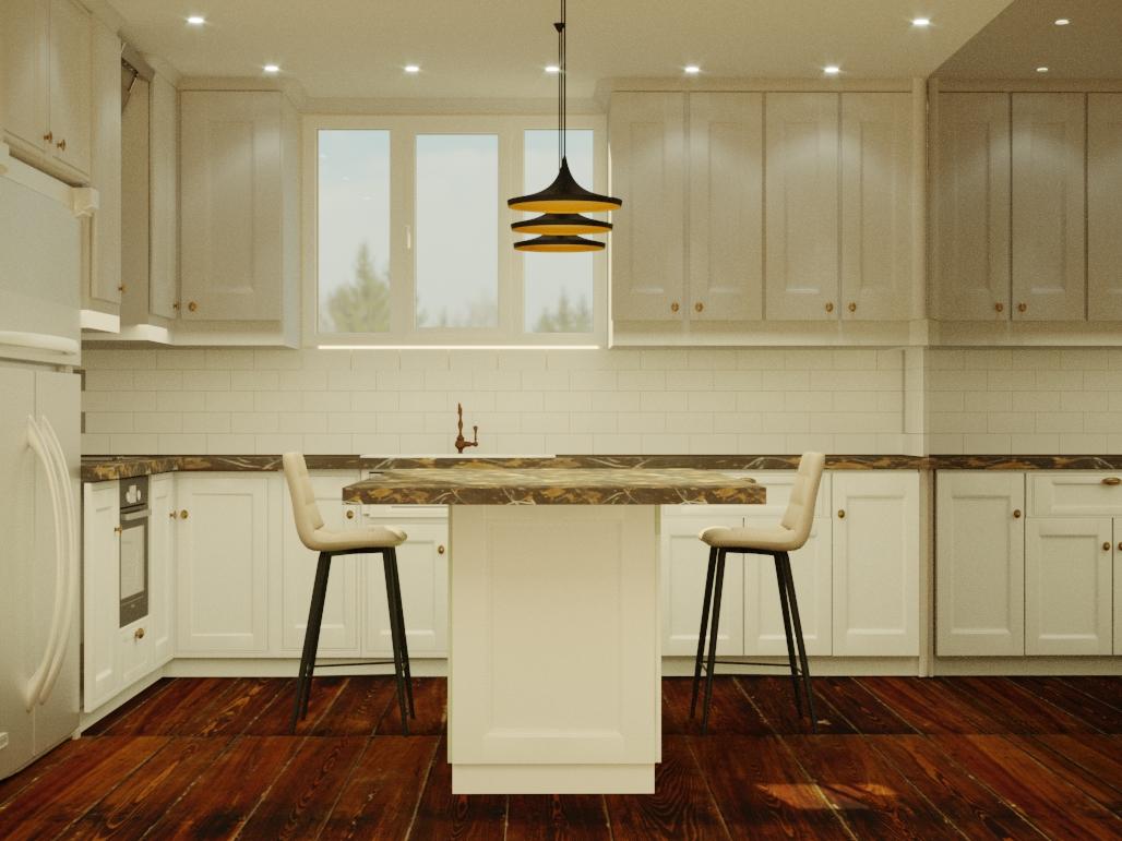 Моделирование и визуализация кухни