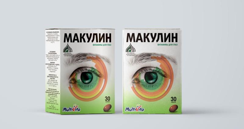 Разработка упаковки для капель в глаза