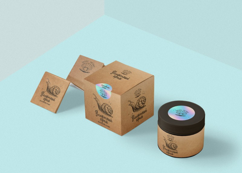 Вариант для упаковки и этикетки