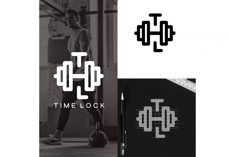 """Логотип для """"Time Lock"""""""