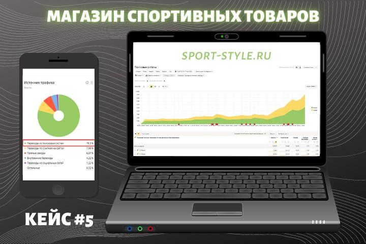 Продвижение магазина спорт товаров