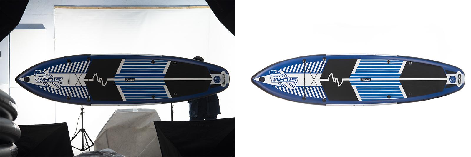 Обтравка и Ретушь Лодка 1