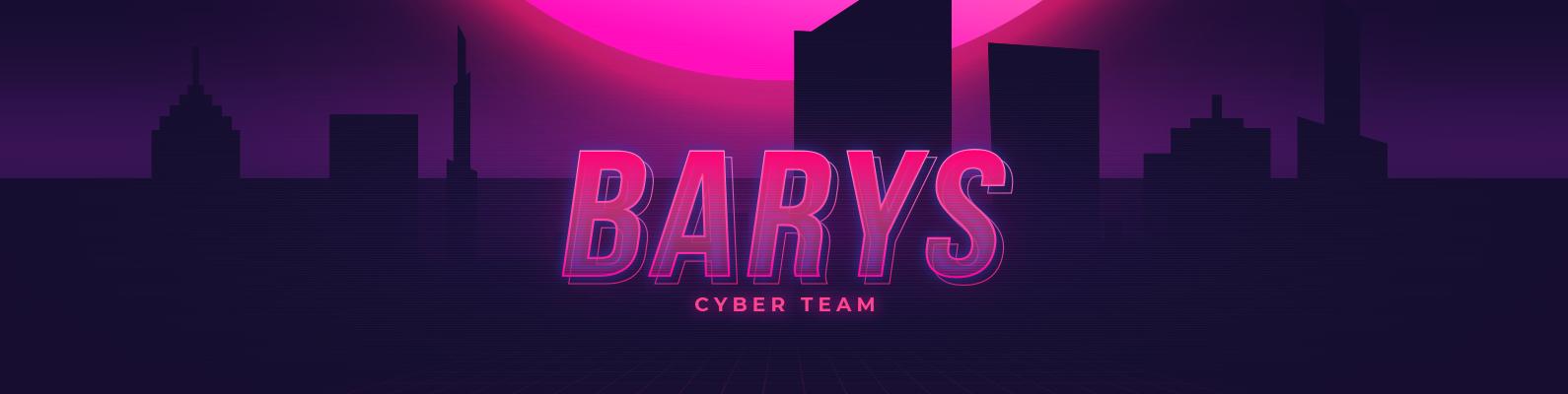Обложка сообщества ВК BARYS