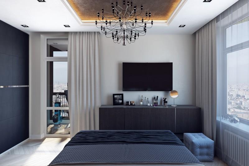 спальня ЖК Золотая Гавань