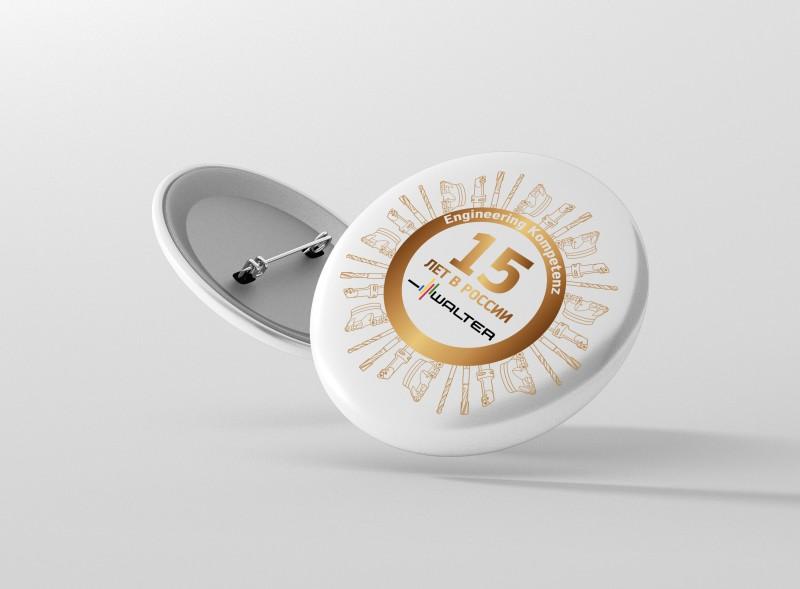 Логотип к юбилею компании «Вальтер»