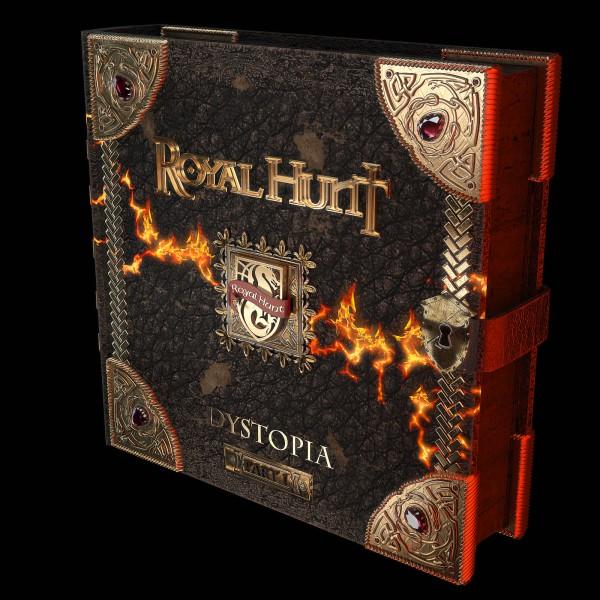 дизайн книги для обложки альбома Royal hunt