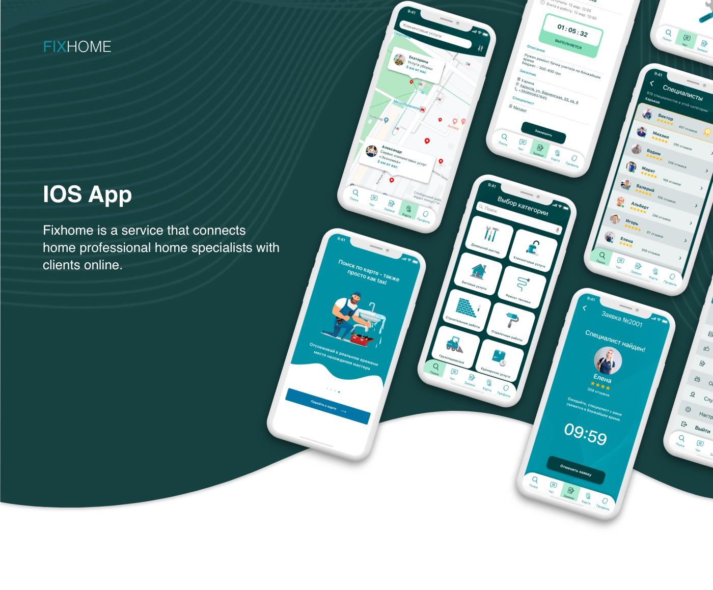 IOS App Fixhome