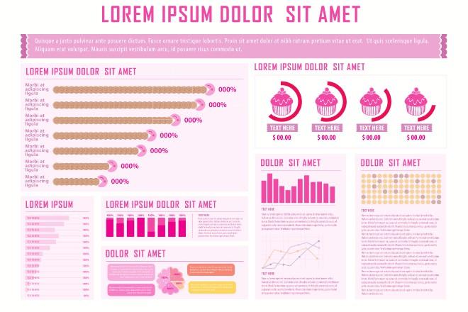 Шаблон к инфографике