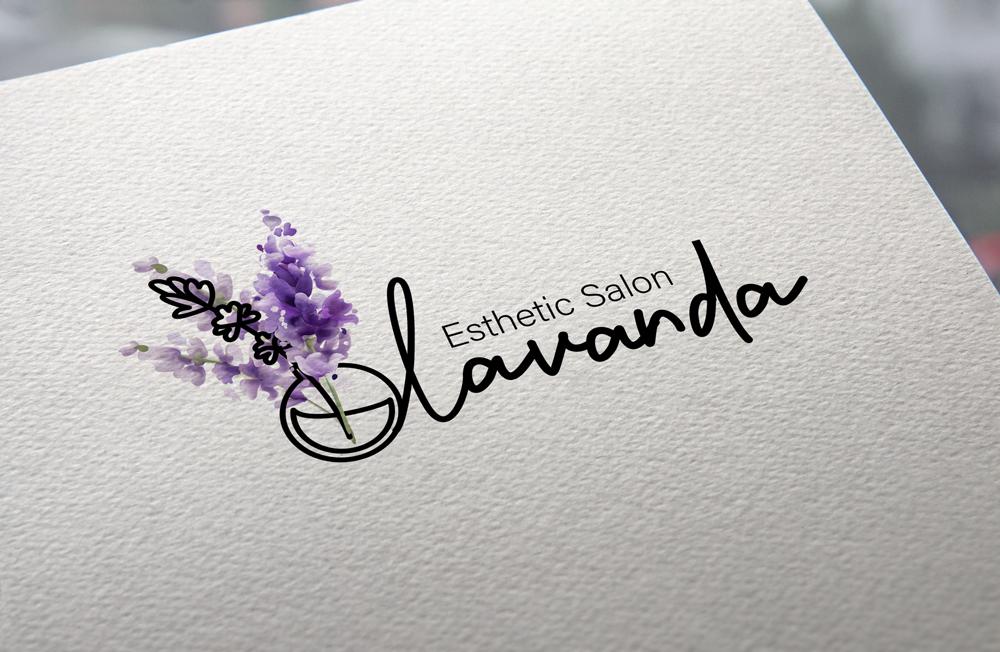 логотип для салона красоты из Японии