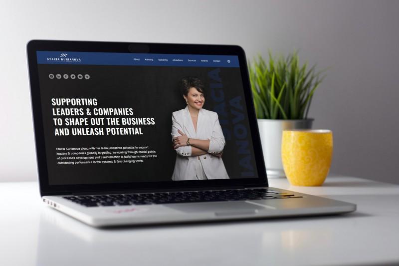 Многостраничный сайт для личного бренда