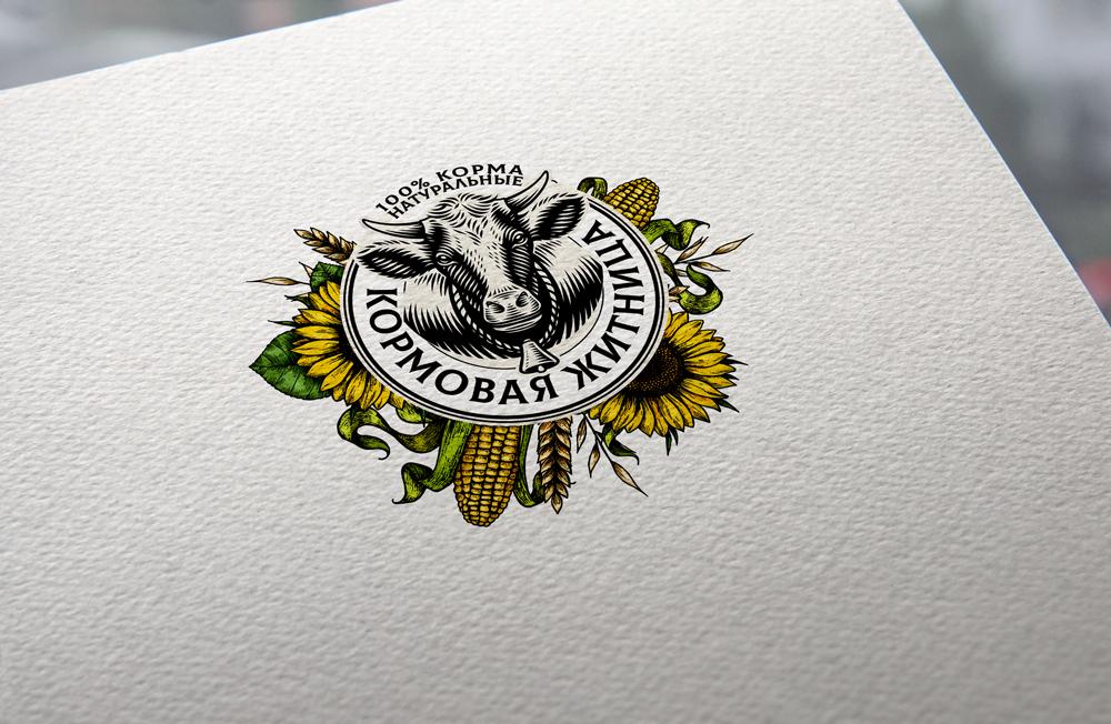 разработка логотипа для компании по кормам для животных