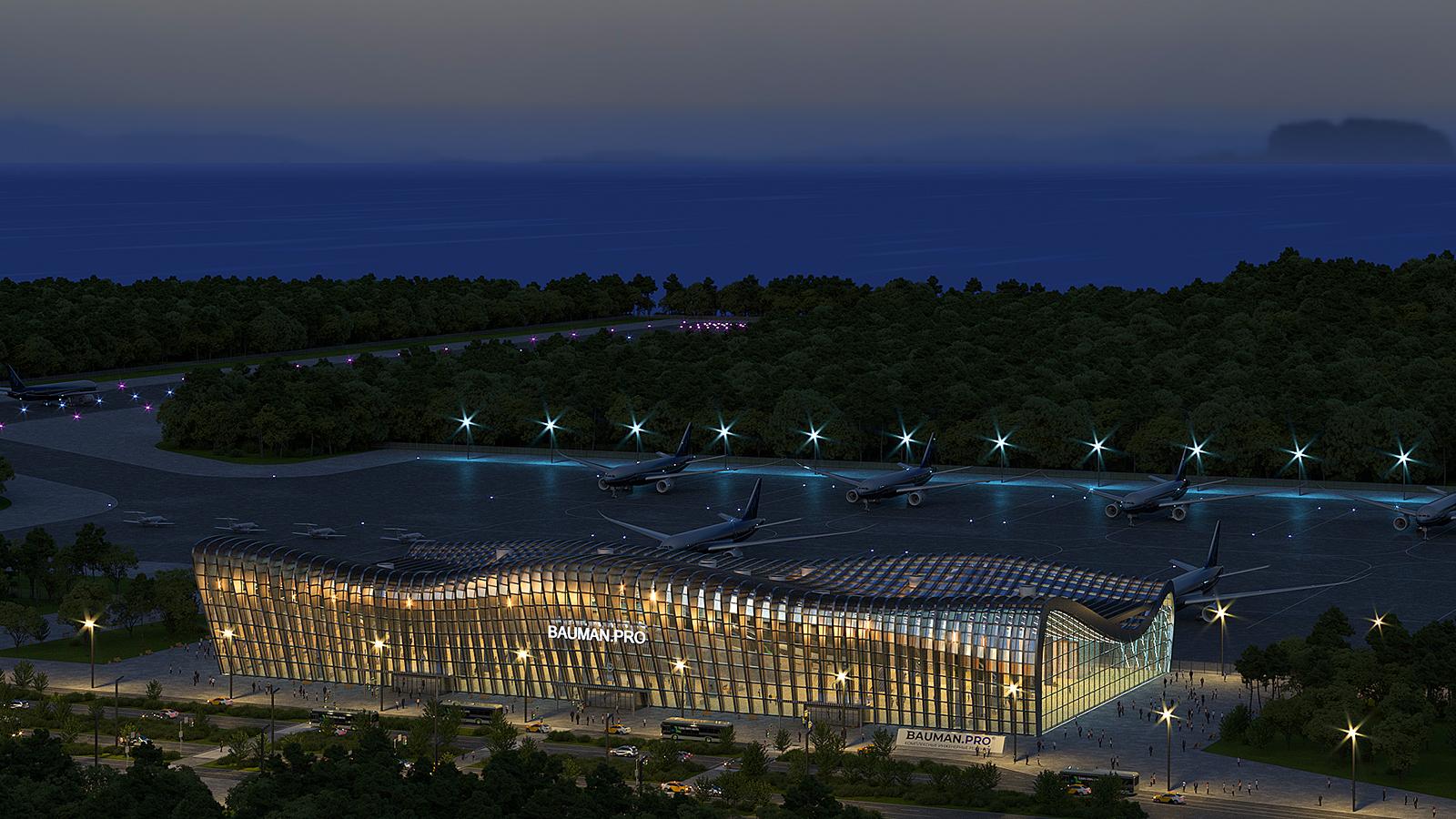 Визуализация аэропорта