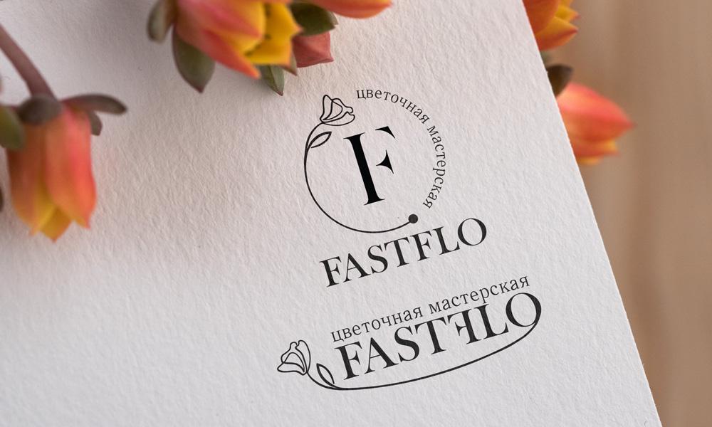 разработка логотипа для мастерской цветов
