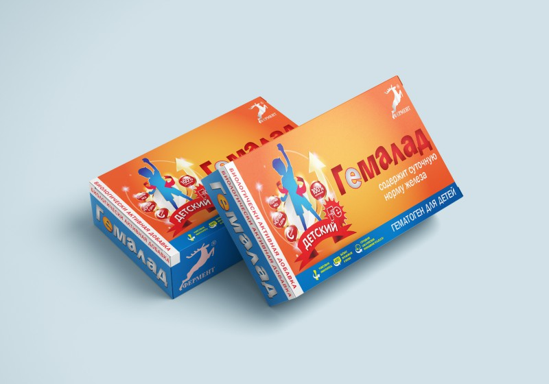 разработка упаковки Гемалад