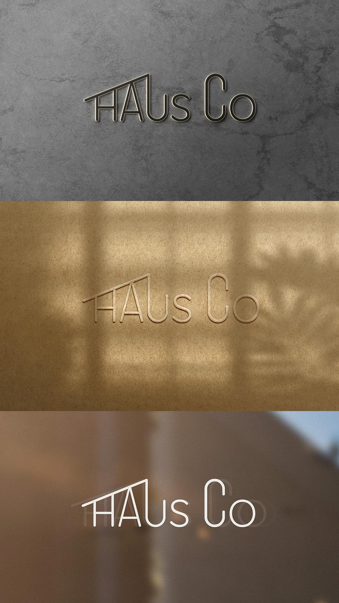 Разработка логотипа для компании HOUS Co
