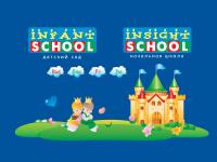 Сайт Infantschool. Главная страница