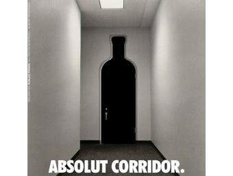 Реклама Absolut Corridor