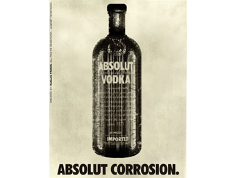 Реклама Absolut Corrosion