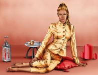 Девушка в золотом Марокко.