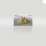 Дисконтная карточка туристической компании Gulnartour