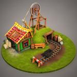 Серия моделей для игры-стратегии