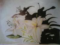 роспись по ткани (батик)