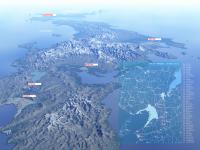 Япония с высоты полета