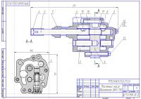 Масляный насос двигателя ЗИЛ-130
