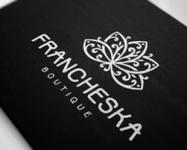 Логотип и фирменный стиль бутика «Франческа»