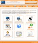 Дизайн главной страницы для сайта IT-компании