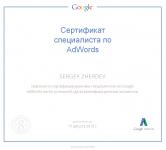 Я сертифицированный специалист Google AdWords
