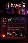 Дизайн для игрового сайта