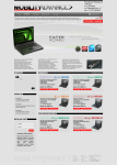 Инетрнет-магазин ноутбуков