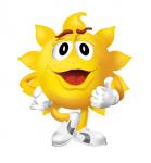 Векторный персонаж Sunny