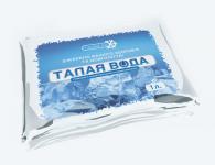 Дизайн упаковки для воды Crystal Ice.