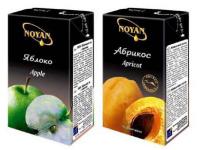 Дизайн упаковок соков NOYAN