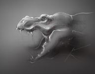 профиль тиранозавра