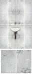 Разработка декоративных элементов для фоновой плитки в ванную.