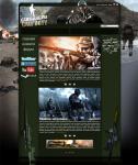 Создание дизайна для игрового портала