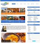 Сайт компании Lux Routes Holidays Pvt. Ltd.