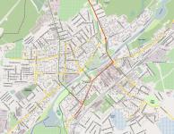 отрисовка карты города