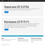 Изуечени Каны, японской слоговой азбуки