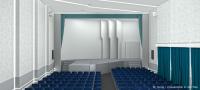 Актовый зал (вид на сцену)