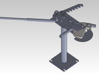 Станок для гибки труб (ручной трубогиб)
