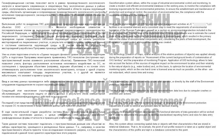 Перевод доклада Российской технической нефтегазовой конференции