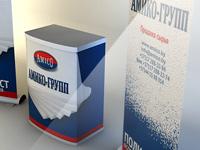 Дизайн выставочных конструкций для АМИКО-ГРУПП